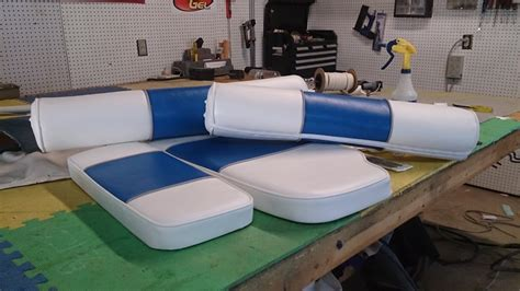 Boat Upholstery Repair by Marine Grateful Threads Custom Upholstery