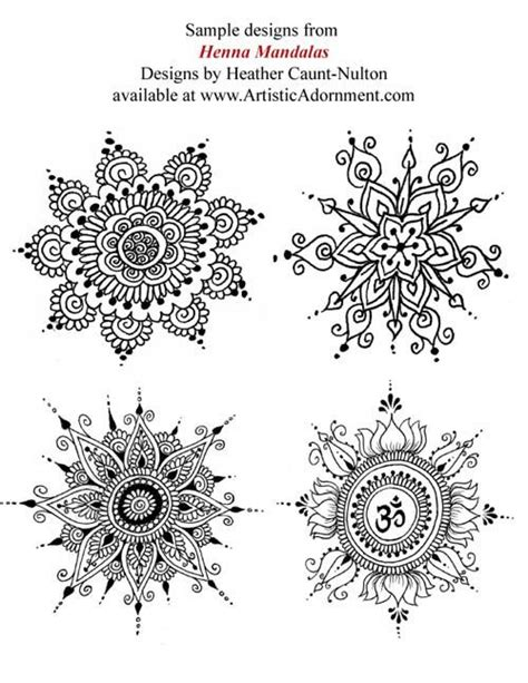 Henna mandala, Mehndi patterns and Mandalas on Pinterest