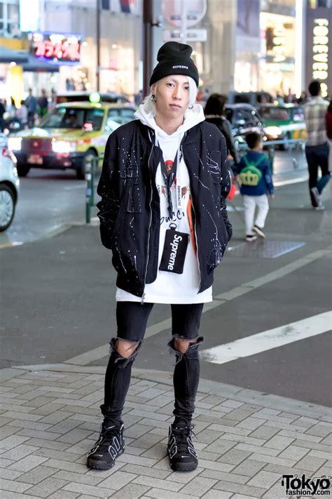 fashion supreme harajuku streetwear w supreme x tom jerry reason