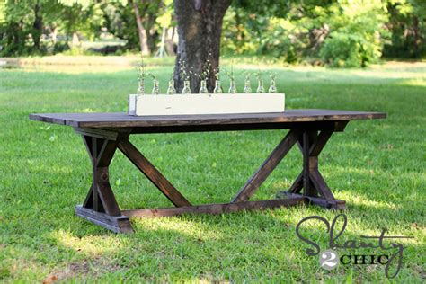 shanty 2 chic farmhouse table diy dining table for only 65 shanty 2 chic