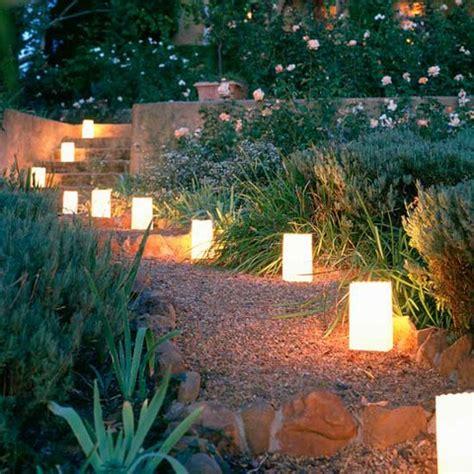 make your own pathway lights beautiful garden pathway