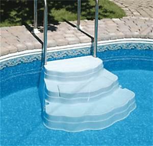 Escalier Pour Piscine Hors Sol : escalier oasis quipement piscine achat sur ~ Dailycaller-alerts.com Idées de Décoration