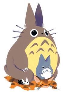 cat totoro totoro and cat by pocketowl on deviantart