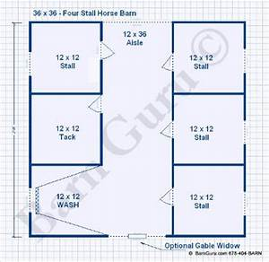 fernando shed plans 20 x 30 x 5 With 4 stall horse barn designs