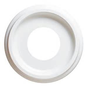 westinghouse smooth white finish ceiling medallion