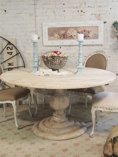 shabby chic dining table dining table round dining table shabby chic
