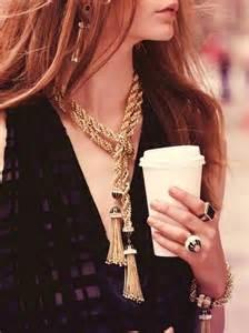 Neiman Marcus Tassel Necklace