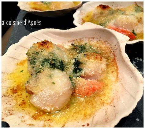 la cuisine au four coquilles jacques gratinées au four blogs de cuisine