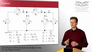 Spannungen Berechnen : gleichstromschaltungen berechnen kirchhoff 39 sche s tze und ohm 39 sches gesetz youtube ~ Themetempest.com Abrechnung