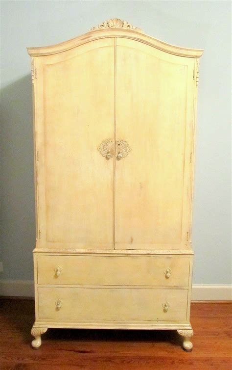 French Armoire Sewing Cabinet   DIY projects for everyone!