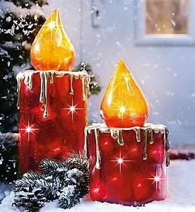 Weihnachtsbeleuchtung Für Draußen : kerzenset mit beleuchtung 2 teilig bestellen ~ Frokenaadalensverden.com Haus und Dekorationen
