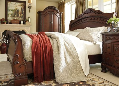 north shore king sleigh bed ashley furniture b553 king