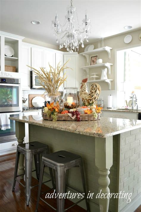 decorate kitchen island kitchen fall decor ideas that are simply beautiful