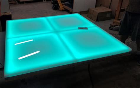 light  led color changing dance floor panels