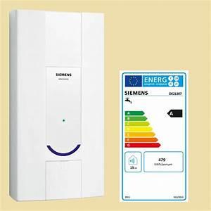 Kw Heizleistung Berechnen : siemens durchlauferhitzer 21 kw elektronisch klimaanlage und heizung ~ Themetempest.com Abrechnung