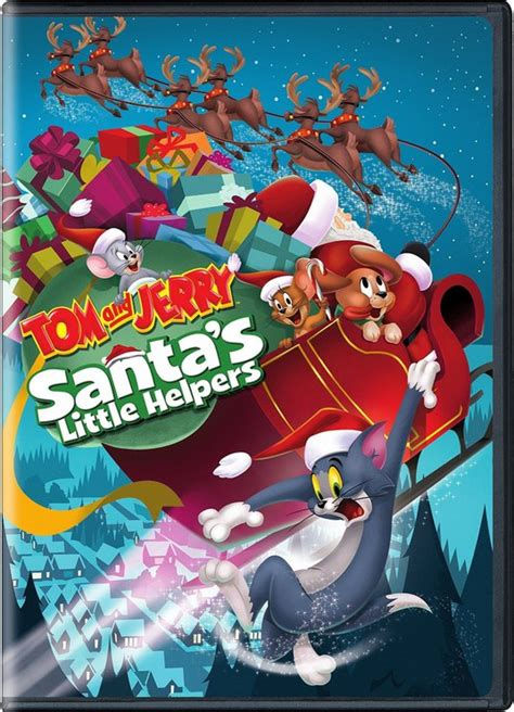 tom  jerry santas  helpers christmas specials