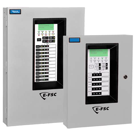 edwards signaling  fsc series conventional fire alarm