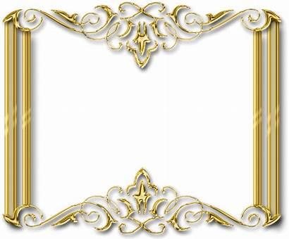 Frame Gold Transparent Golden Background Resolution Freeiconspng