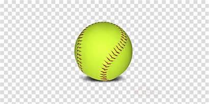 Softball Transparent Clip