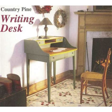 woodworkers journal country pine writing desk plan