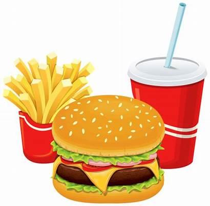Fries Hamburger Cola Burger Drawing Clipart Clip