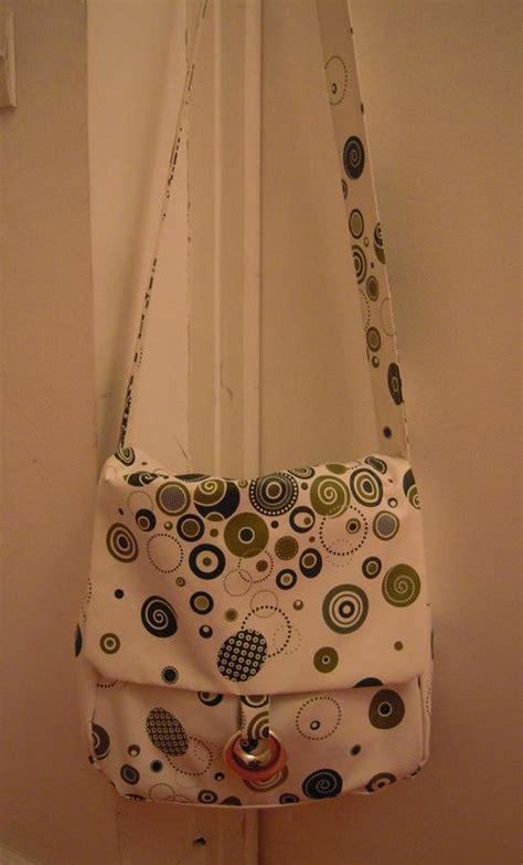 fabriquer un sac en toile ciree ma besace en toile cir 233 e line jules
