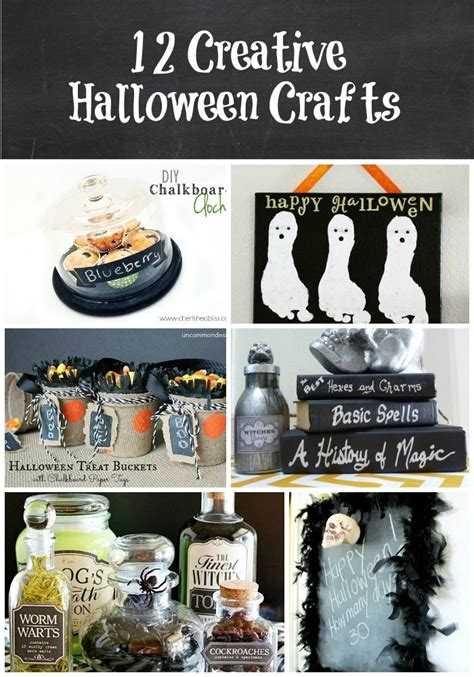 12 Creative Halloween Crafts (link Party Features) Taryn