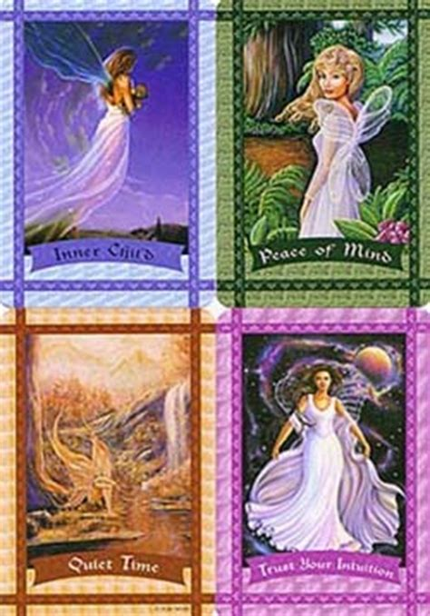 healing   fairies oracle cards doreen virtue book