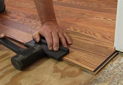 install a laminate floor