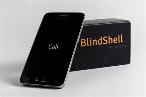 blindshell smartphone app  visually impaired