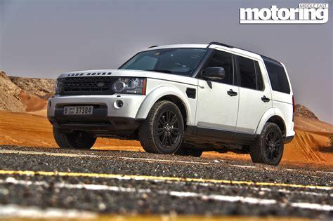 land rover lr4 blacked land rover lr4 black pack review motoring middle east