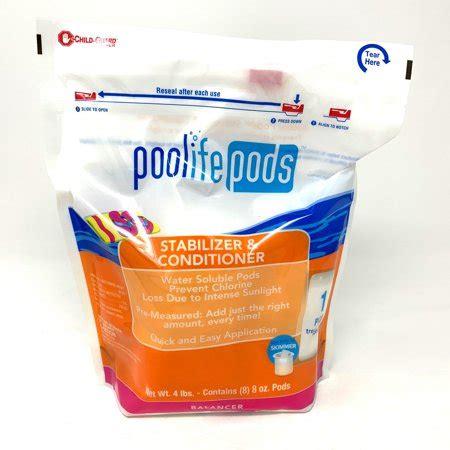poolife pool pods stabilizer  conditioner  lb
