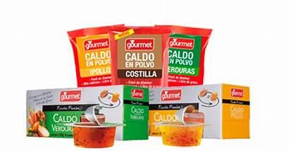 Gourmet Caldos Productos Cl
