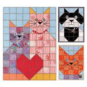 Paper Pieced Cat Quilt Pattern