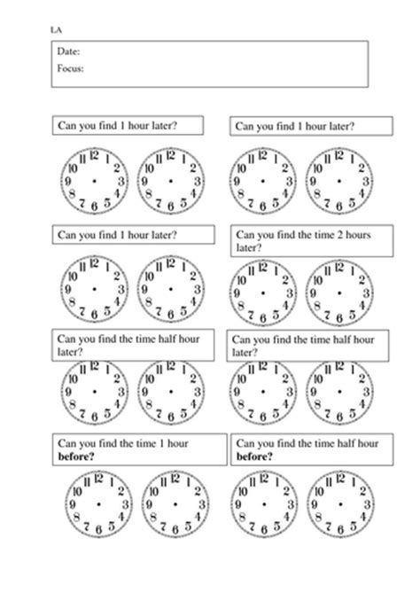 year 3 time intervals worksheets by rdhillon1987