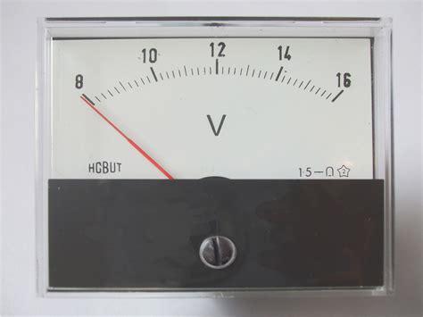 Type Voltmeter Marine Chandlery