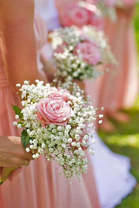 cute babys breath wedding bouquet ideas  pinterest