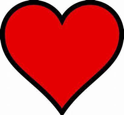 Heart Clip Clipart Valentine Hearts Cliparts Microsoft