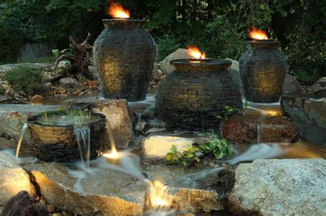 Aquascape Fountains by Nh Bubbling Landscape Garden Kits Chester