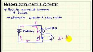 Measure Current With A Shunt Resistor And Dmm Voltmeter