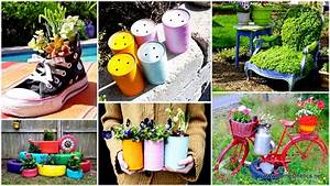 24 Insanely Creative DIY Garden Container Projects That