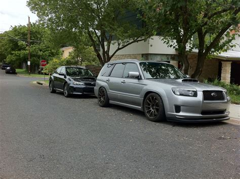 2005 subaru forester slammed lowered foresters nasioc