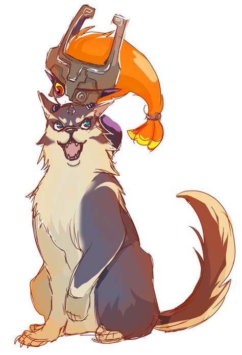 Midna On Wolf Link Fan Art For The Legend Of Zelda