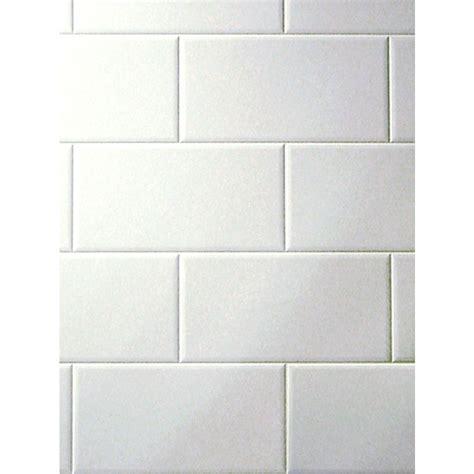 lowes canada white subway tile fashionwall metroliner tempered hardboard tileboard lowe