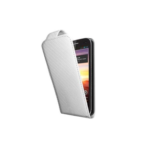 housse carbone blanche wiko cink king 233 tui couleur blanc