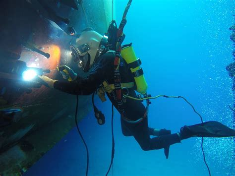 Into the World of Underwater Welding: Featured DIT