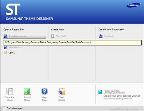 bada Indonesia: Membuat Tema sendiri dengan Samsung Theme