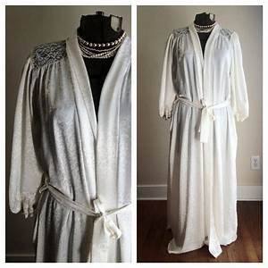 sale vintage union made christian dior ivory robe by With robe christian dior
