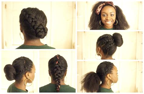 natural hairstyles for middle school hair