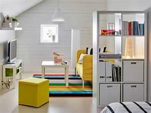 Ikea Weiße Regale : 62 gelungene beispiele die f r einen raumtrenner sprechen ~ Markanthonyermac.com Haus und Dekorationen